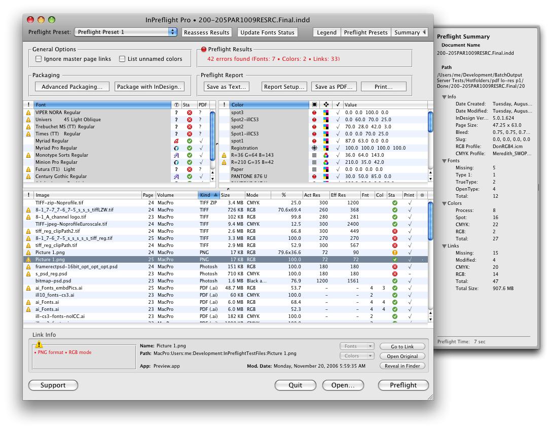 InPreflight Pro 2.6.10