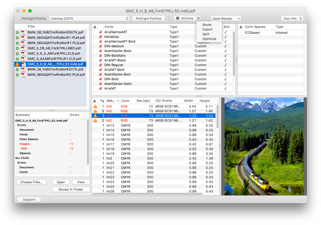 PDF Checkpoint for Mac screenshot