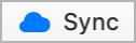 Sync button screenshot